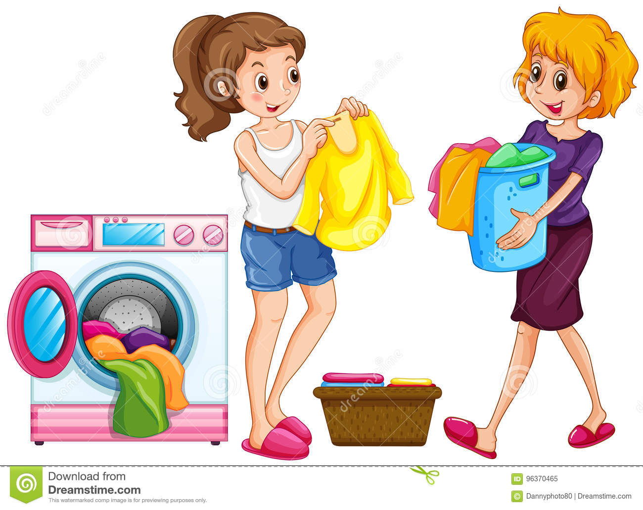 Laundry Cartoons Illustrations Amp Vector Stock Images
