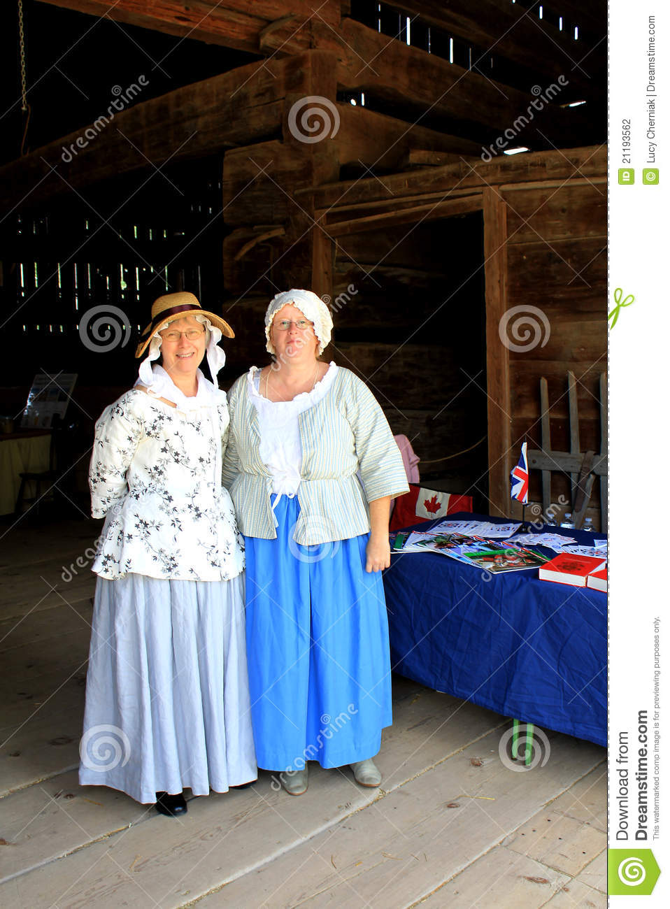 Two Women at Festival