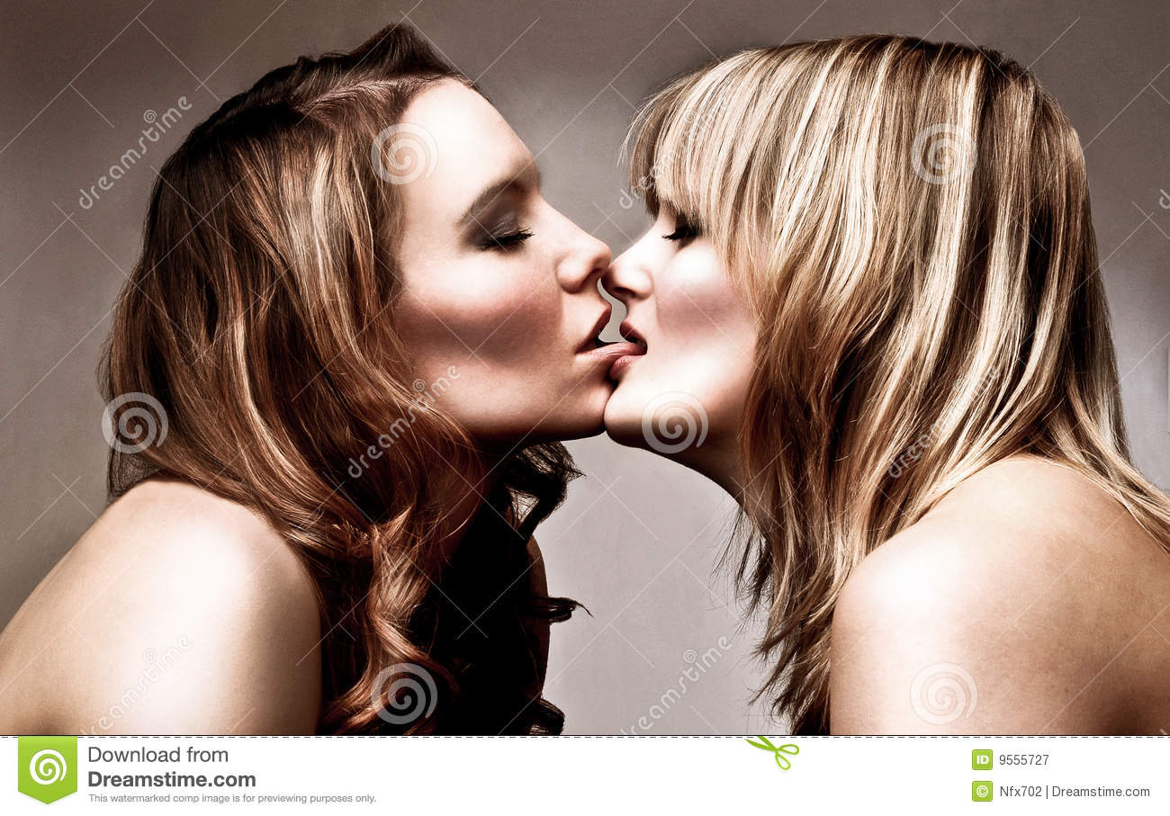 Skyline girls kissing teen