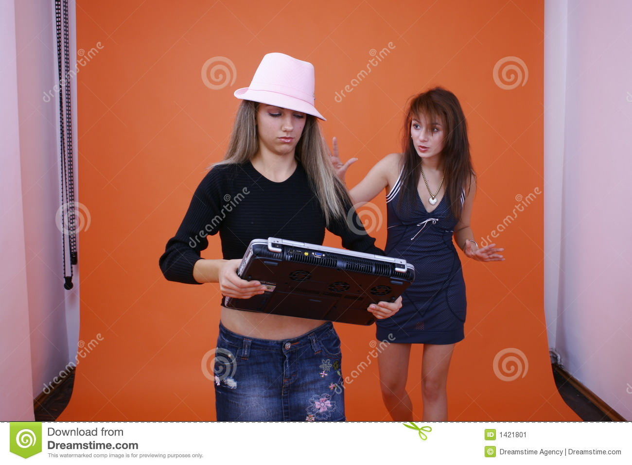 Two Women And A Laptop 2