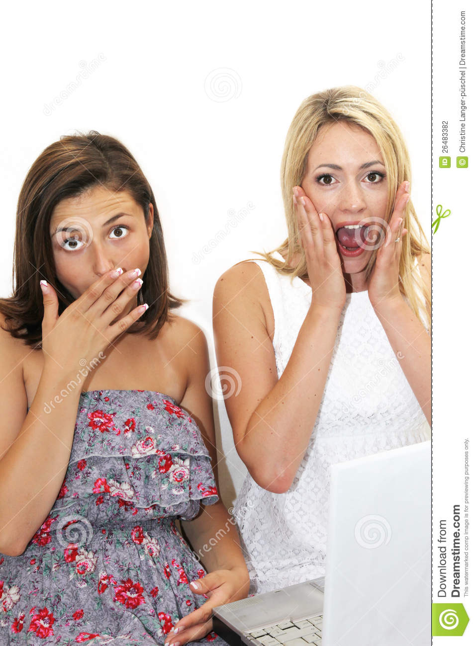 Two women in a amateur adult theater 6