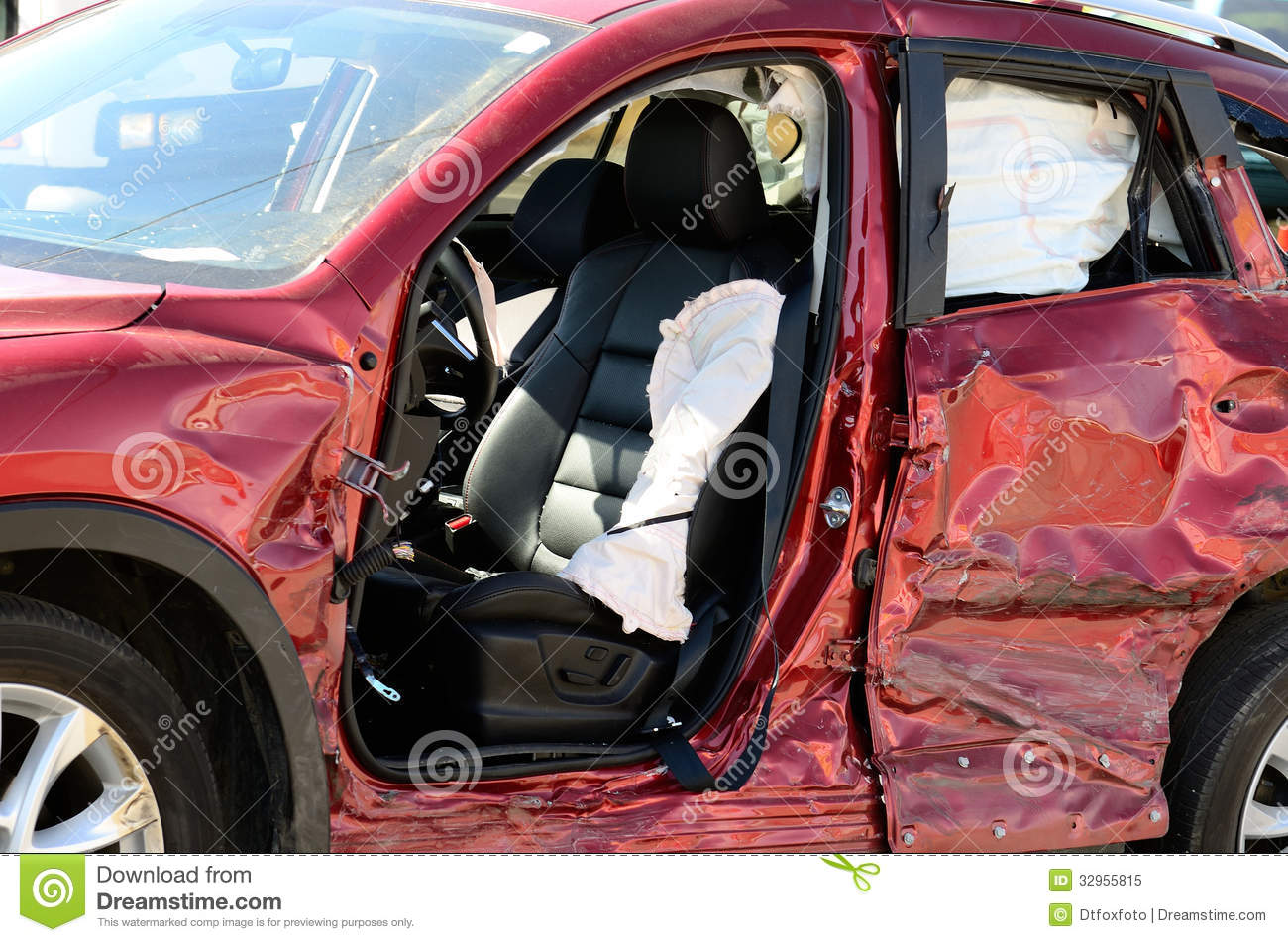 Two Wreck Stock Image Image Of Collision Extrication
