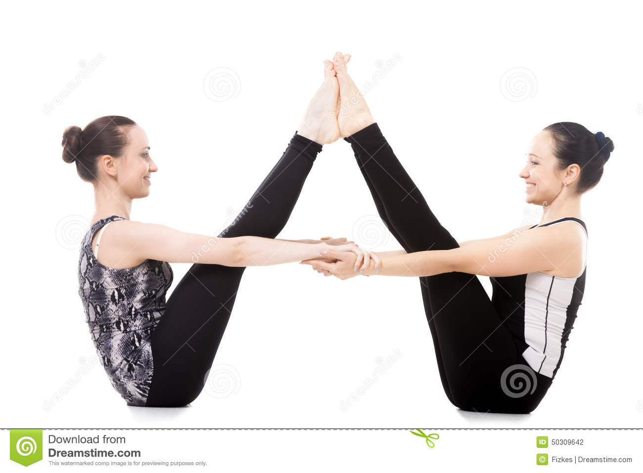 Yoga Poses For Two Sisters