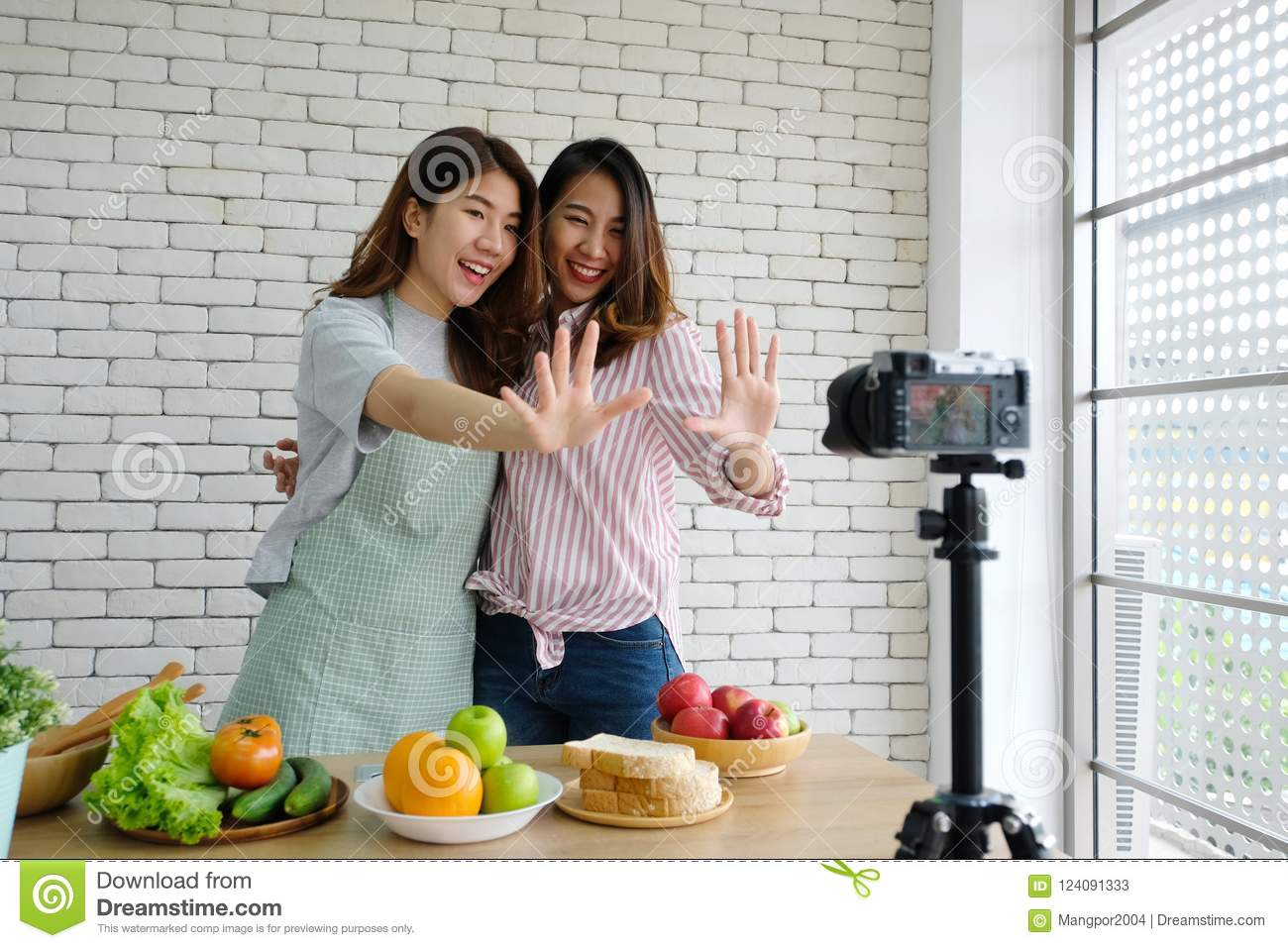 Think, Asian female blog about