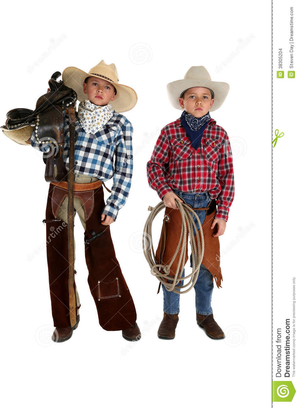 Why do cowboys wear chaps?