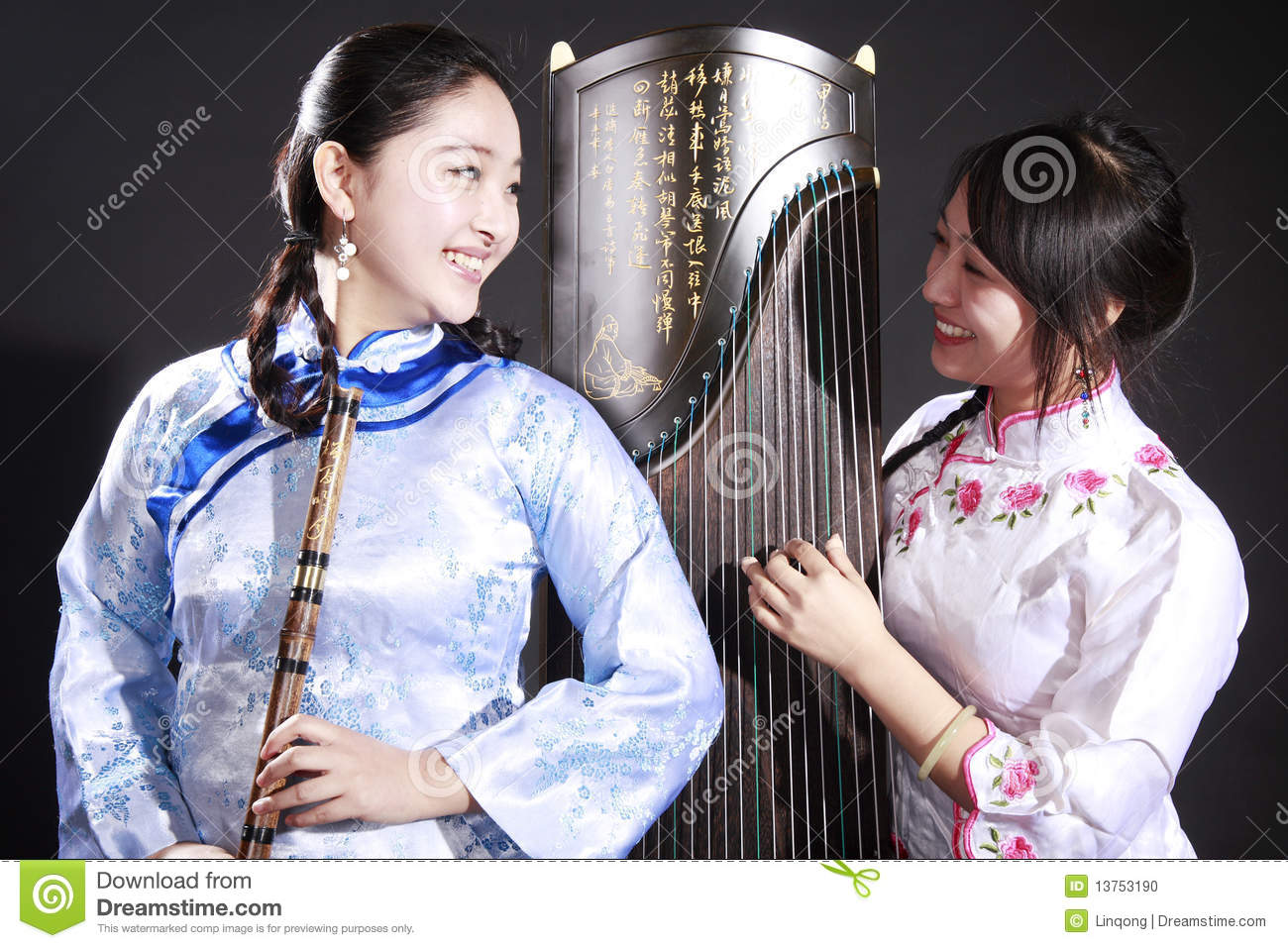 Two young musicians