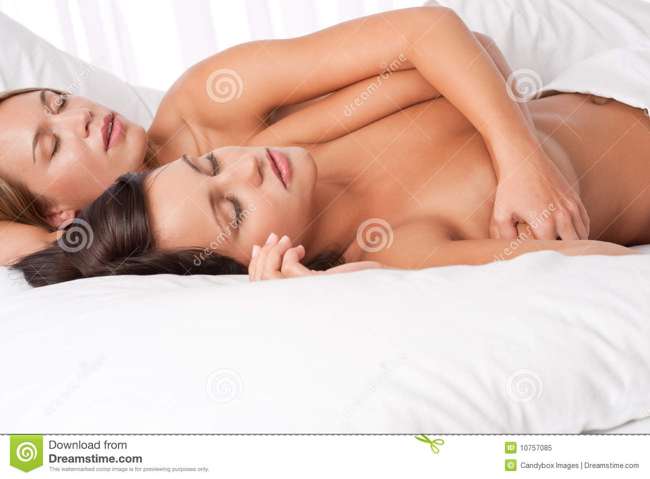 Intelligible message Two nude girls in bed sleeping amusing moment