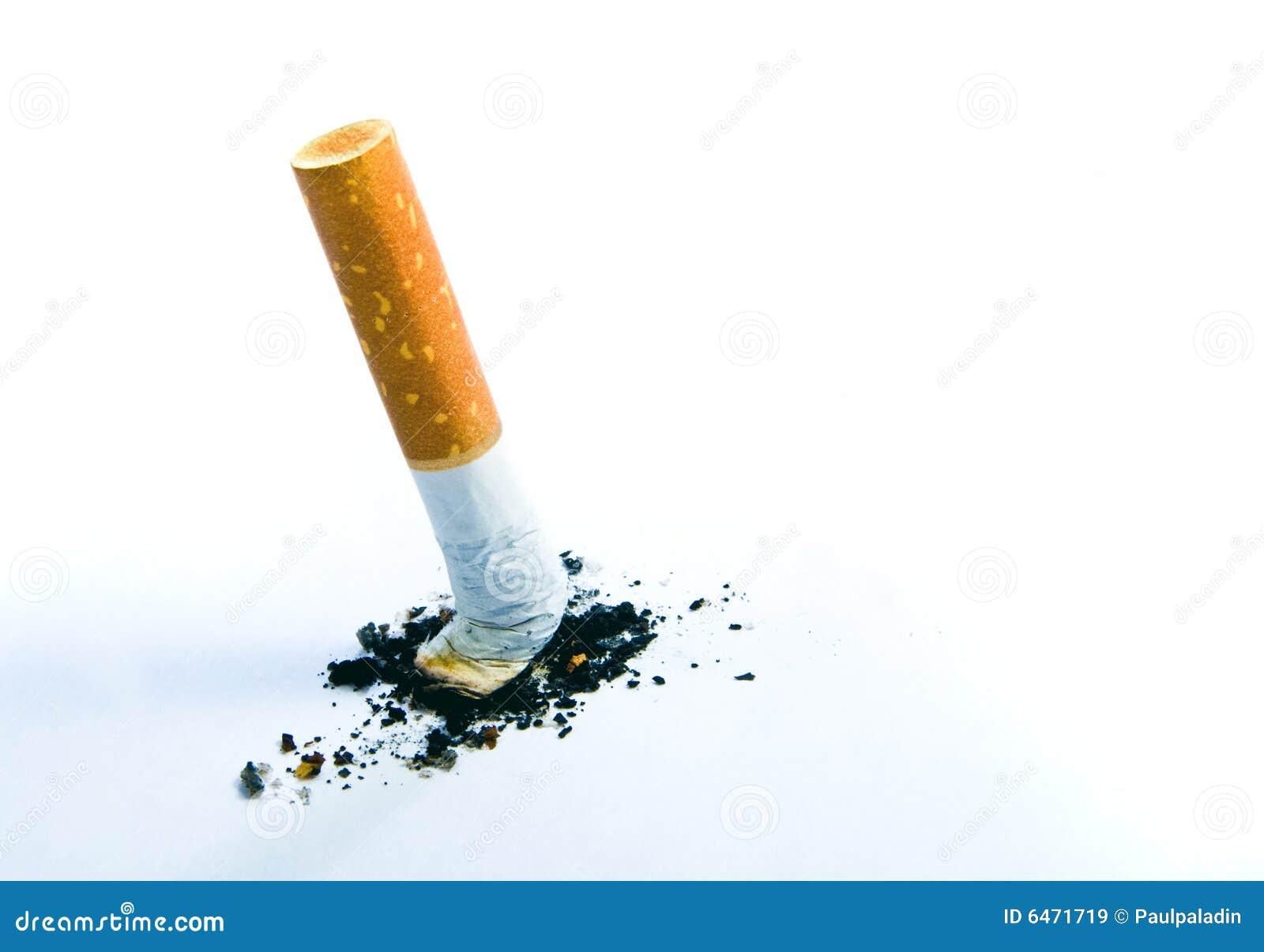 Tyłek papierosa