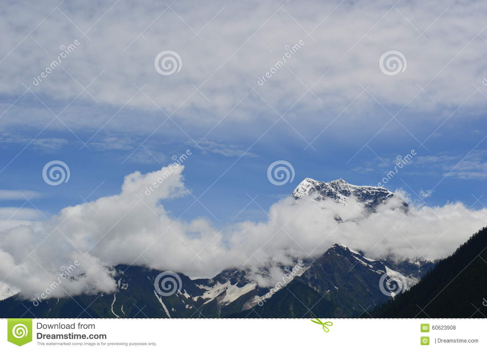Tybet scenerii góra