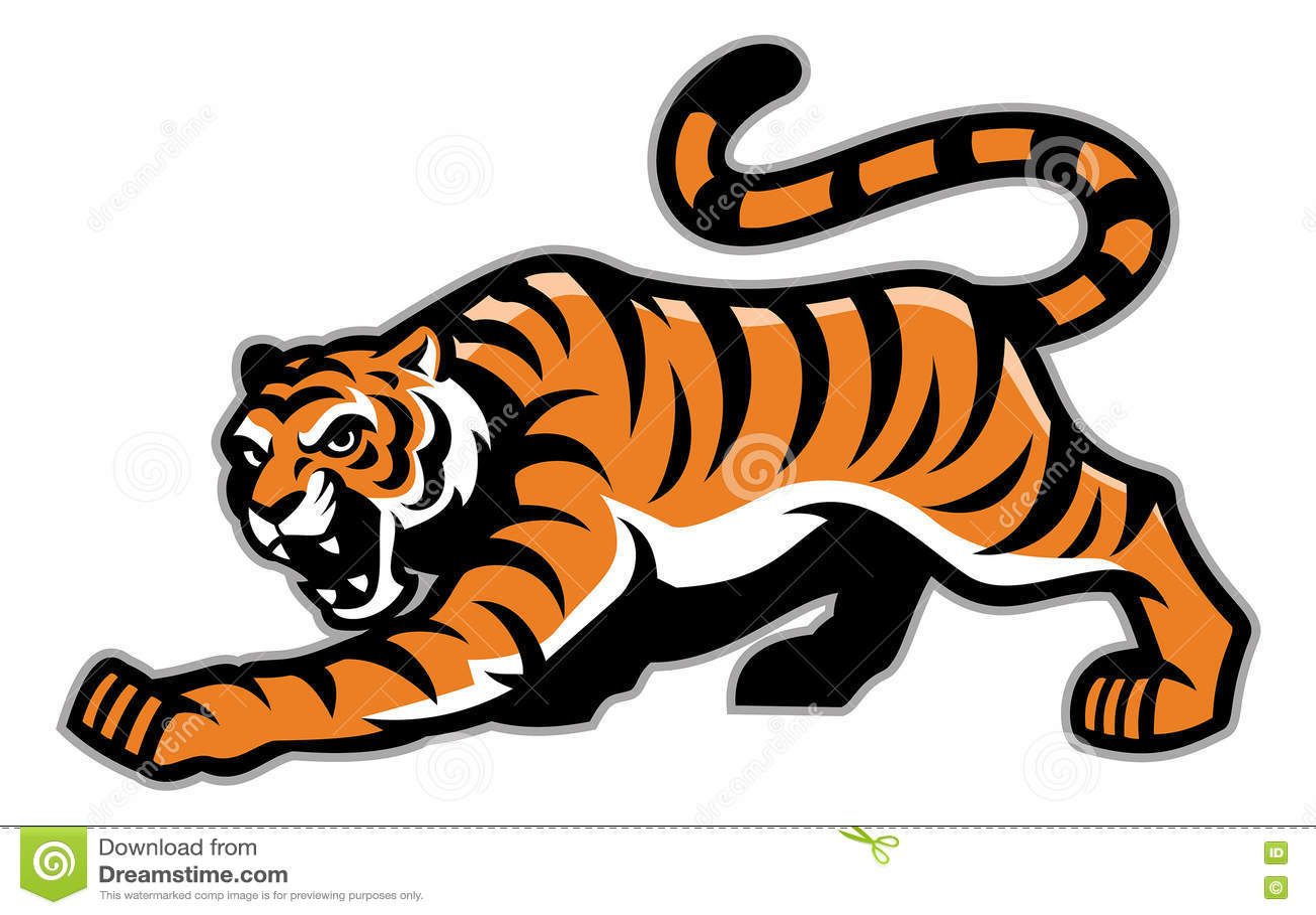 Tygrysia maskotka