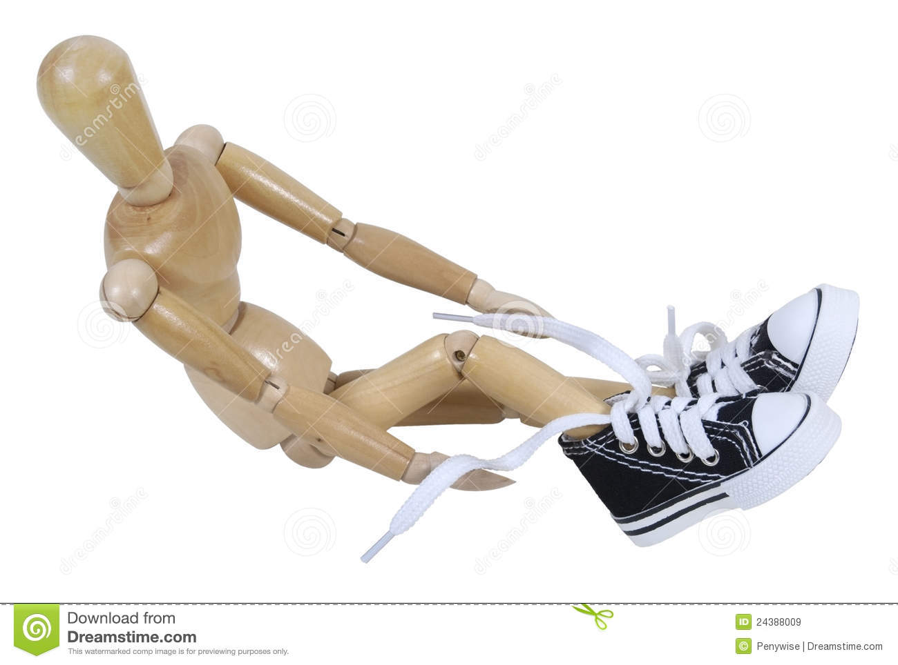 tying tennis shoes royalty free stock images image 24388009