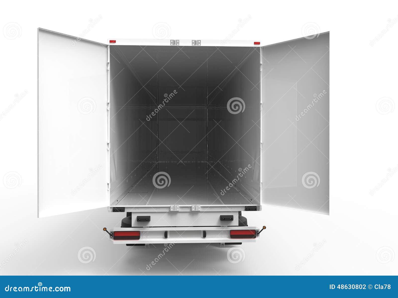 Tylna ciężarówka