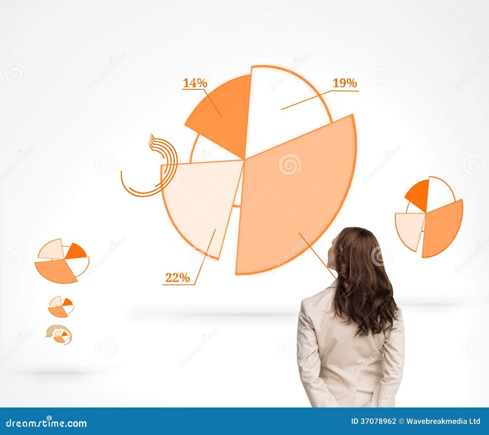 Download Tylni widok bizneswoman zdjęcie stock. Obraz złożonej z odsetki - 37078962