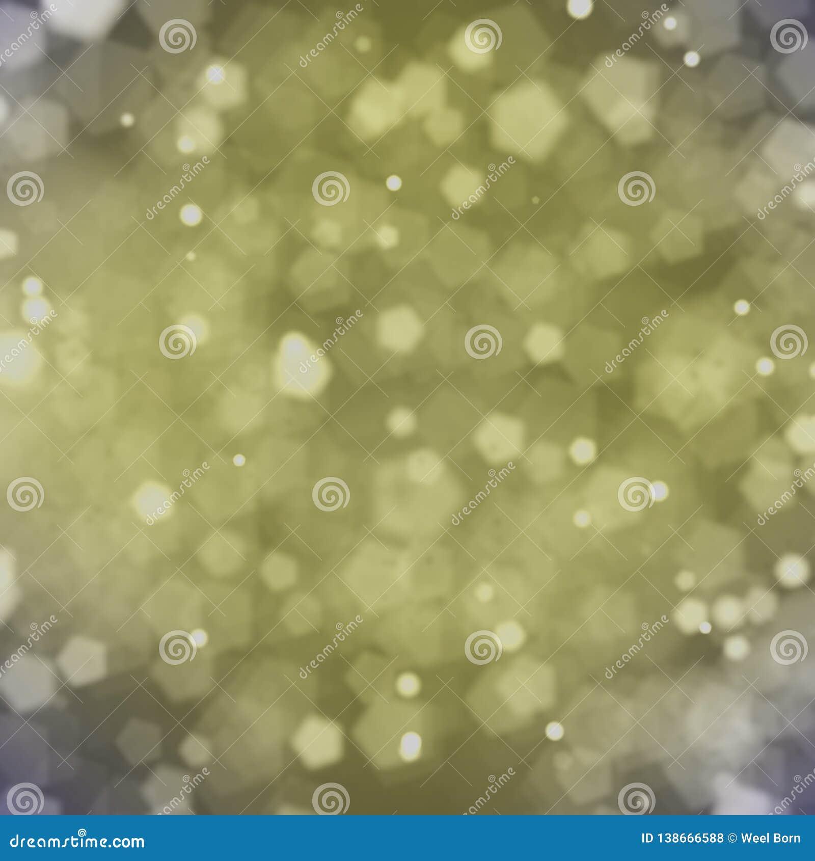 Tylny złocisty bokehs tło