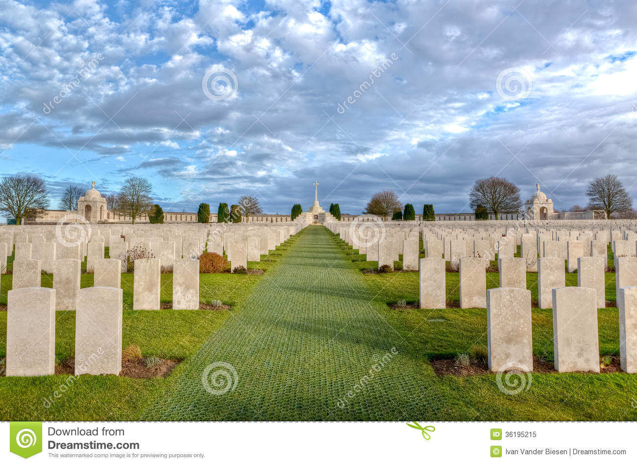World War One Cemetery, Belgium