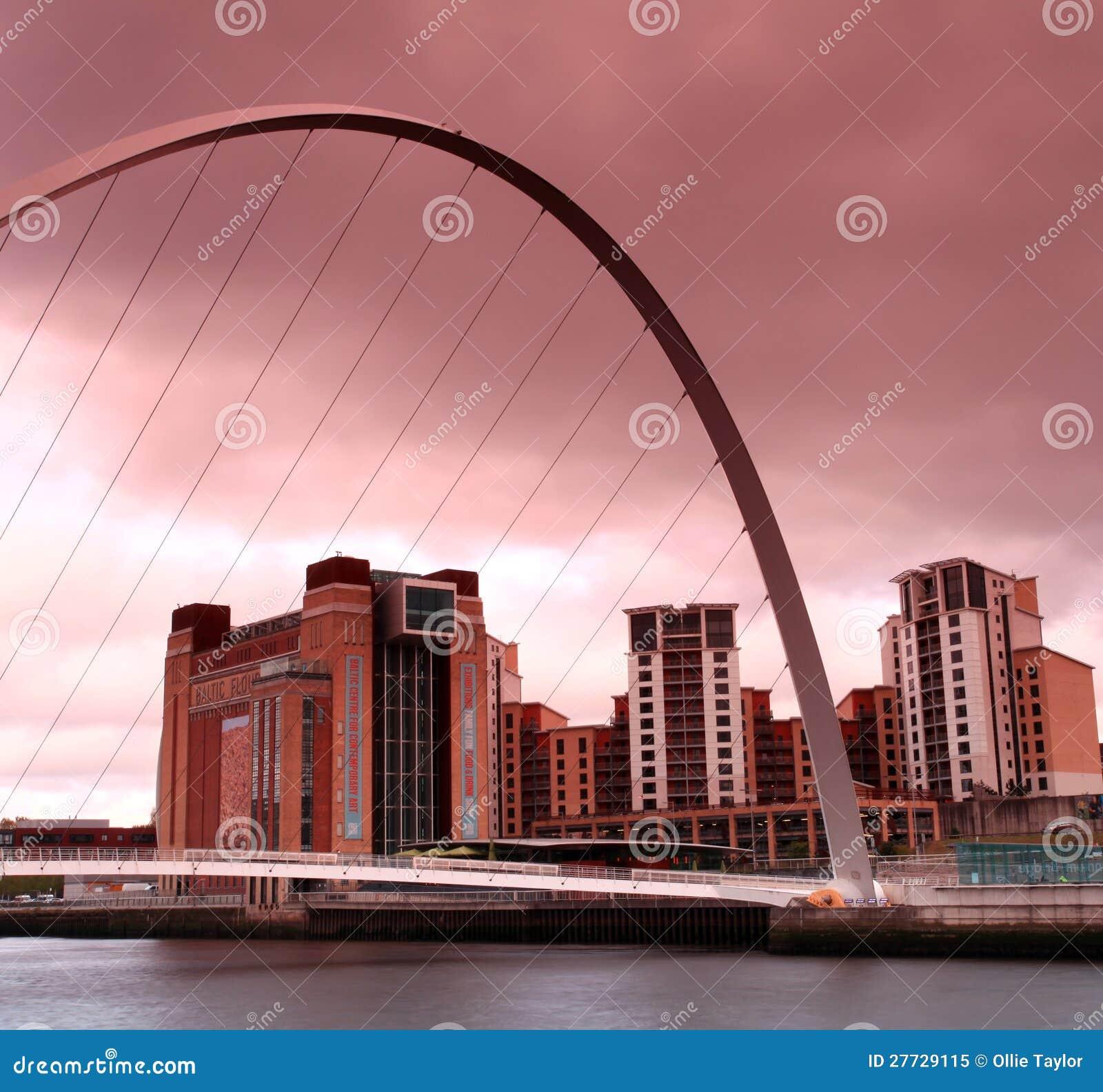 Tyne-Flussjahrtausendbrücke
