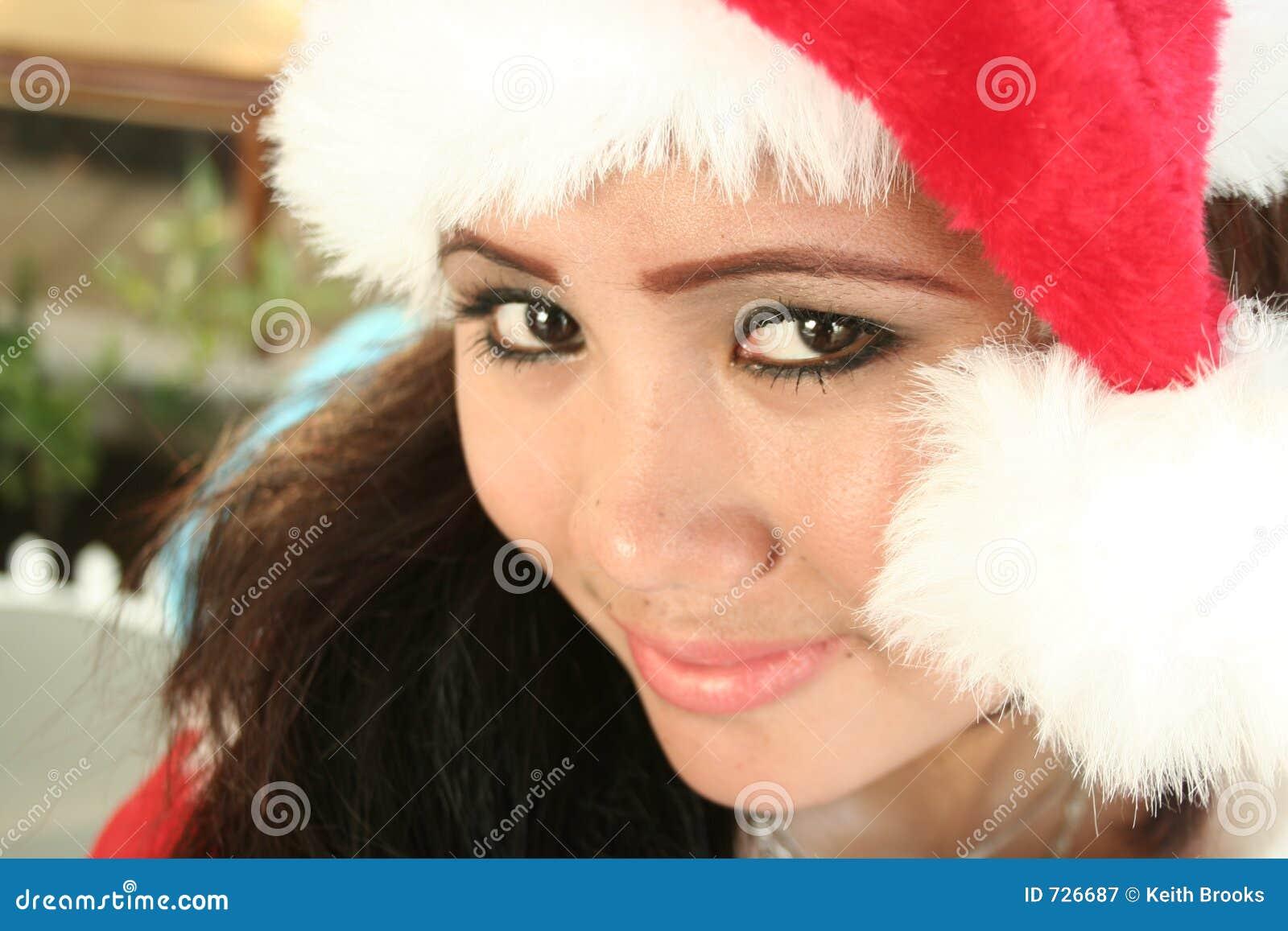 Type d Asiatique de Noël