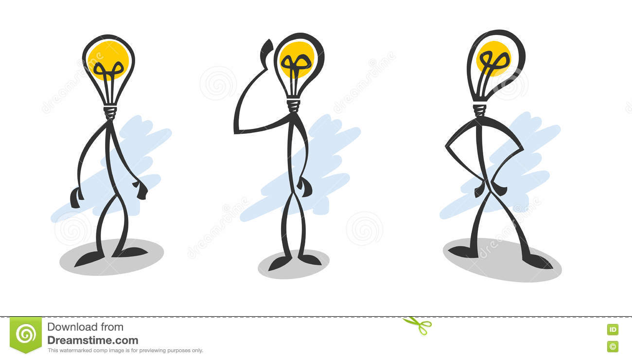 Type De Lampe De Baton Illustration Stock Illustration Du