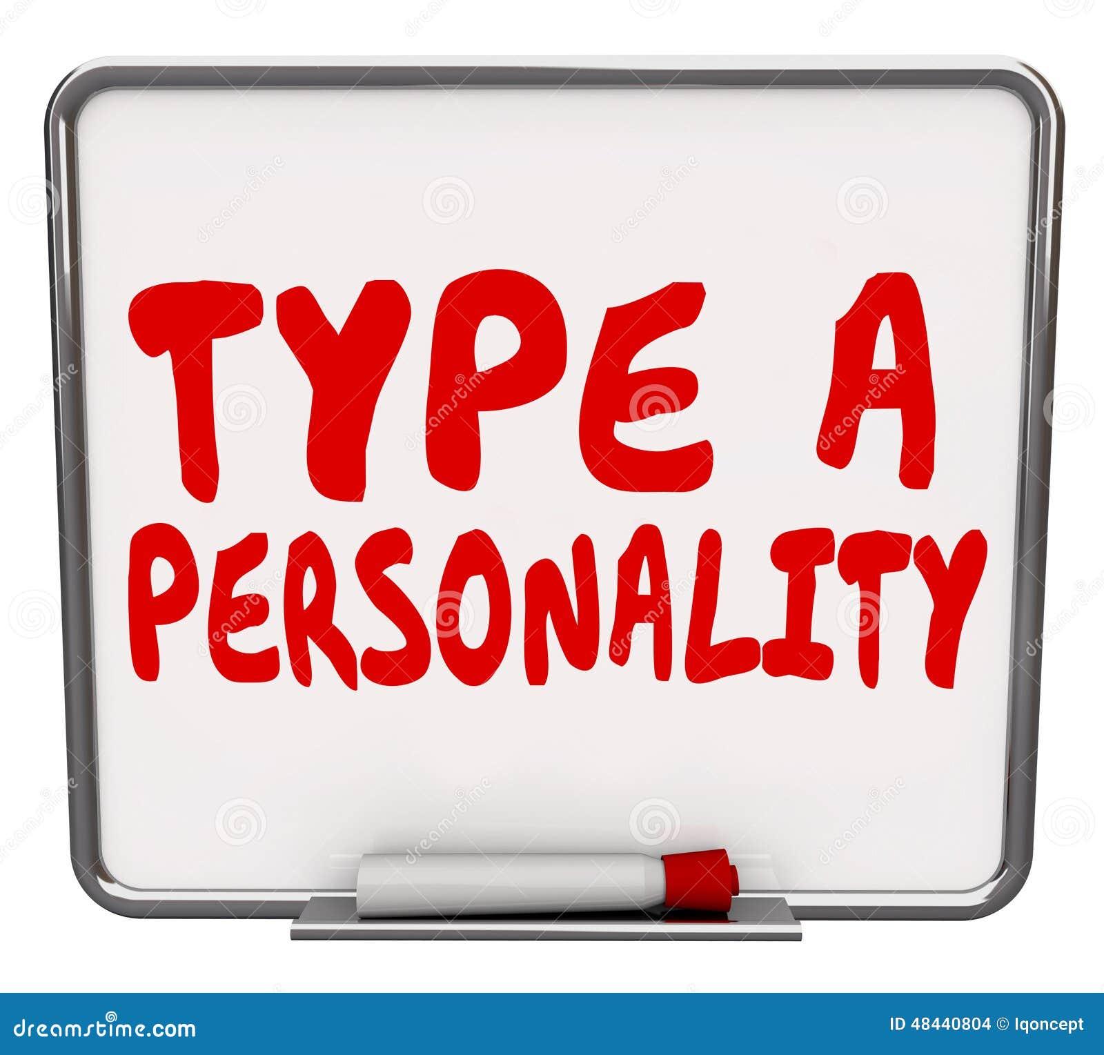 Type A Droge de Persoonlijkheid wist de Evaluatieresultaat van de Raadstest