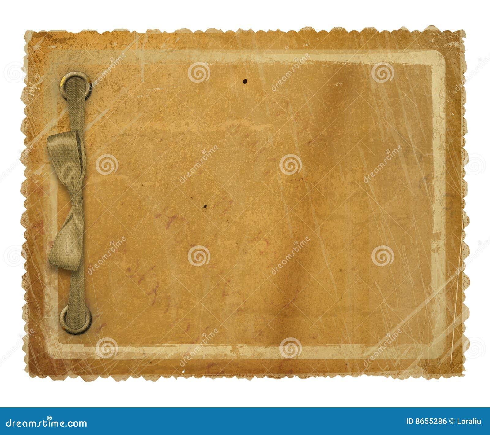 Type scrapbooking de papier grunge de conception