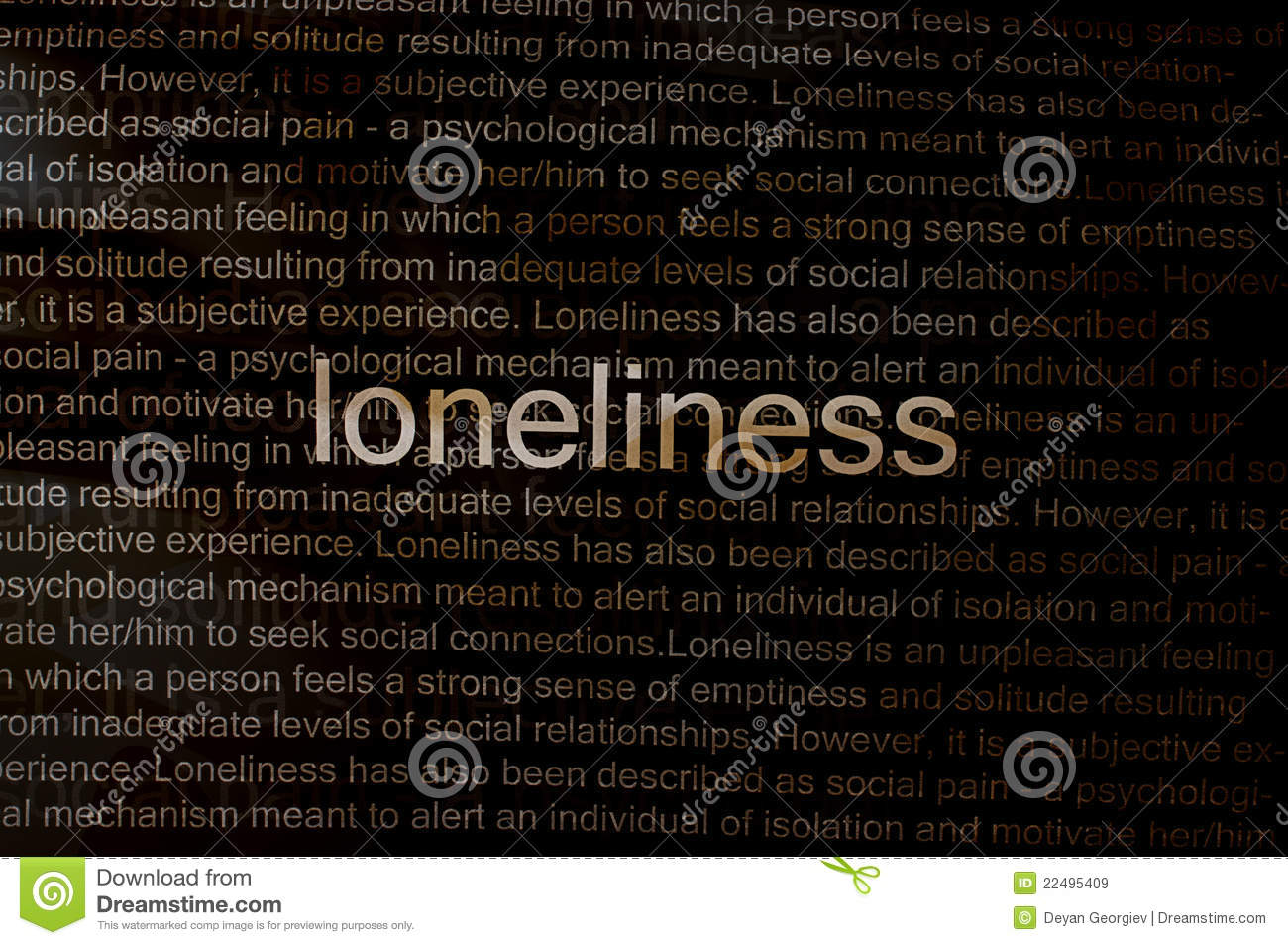individual isolation essay Isolation and loss are two side effects of aging that can negatively  of feeling  that one lacks fulfilling personal relationships, feeling lonely can.