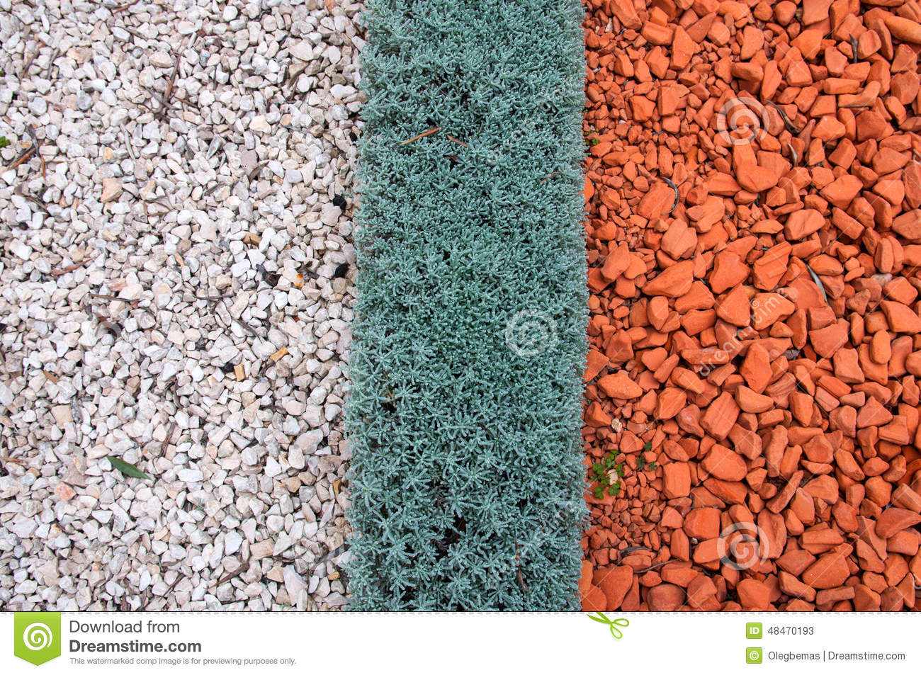 Types of landscaping and decorations garden paths stock Types of pathways in landscaping