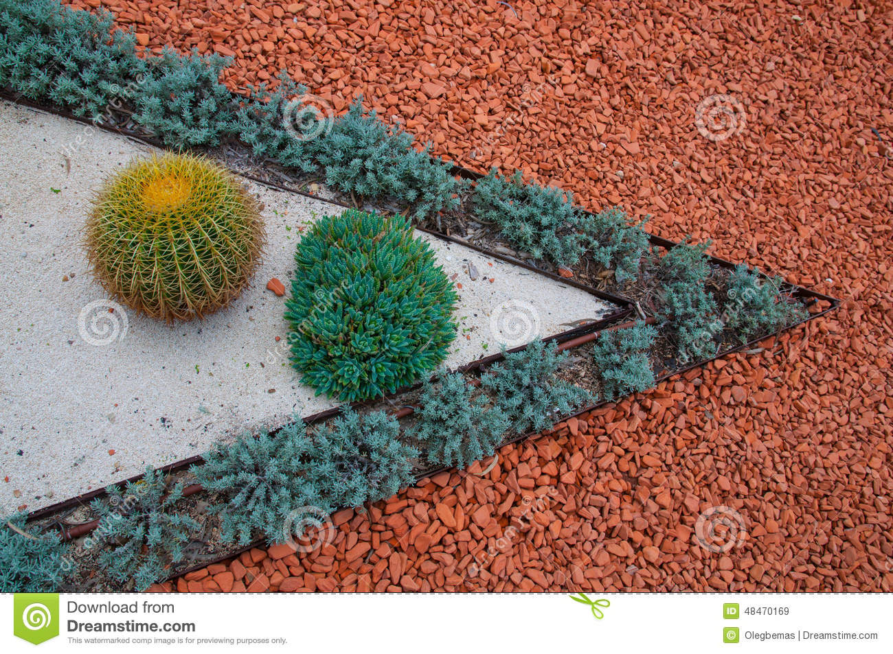 Landscape Gravel Colors : Types of landscaping and decorations garden paths stock