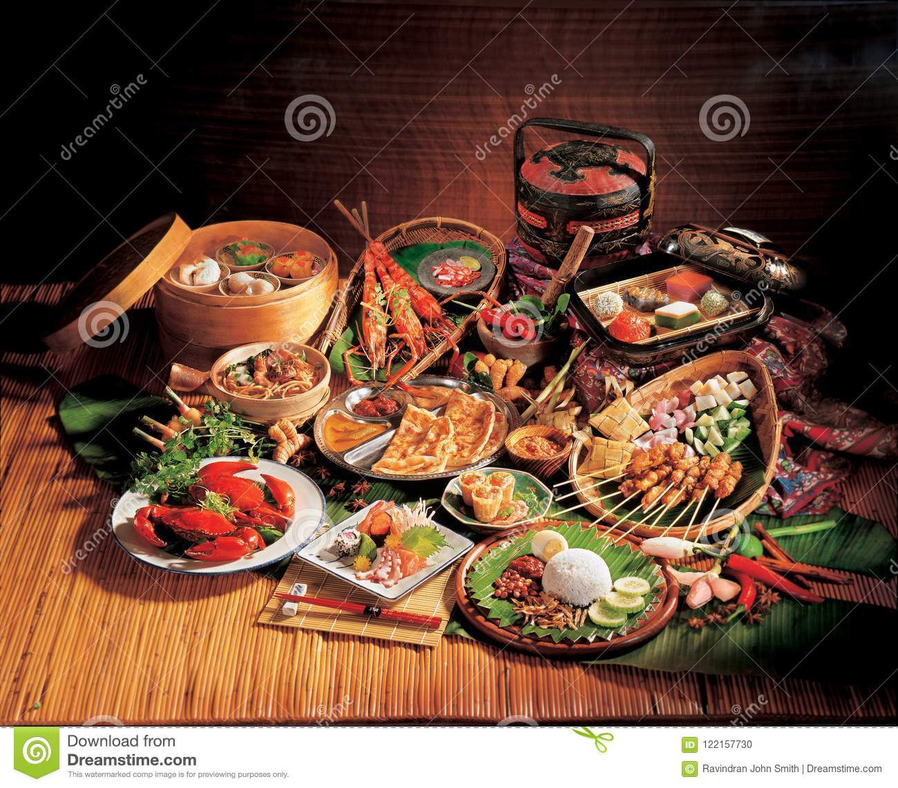 Malaysian Cuisines Stock Photo Image Of Nasi Rice - Cuisines smith