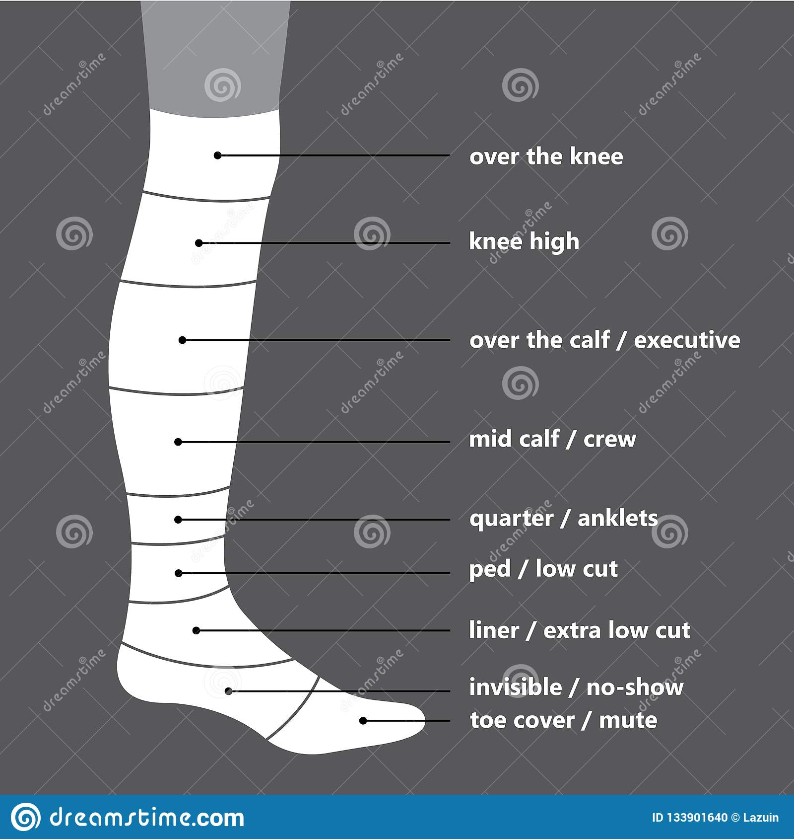 5b468cbad29 Socks Stock Illustrations – 19