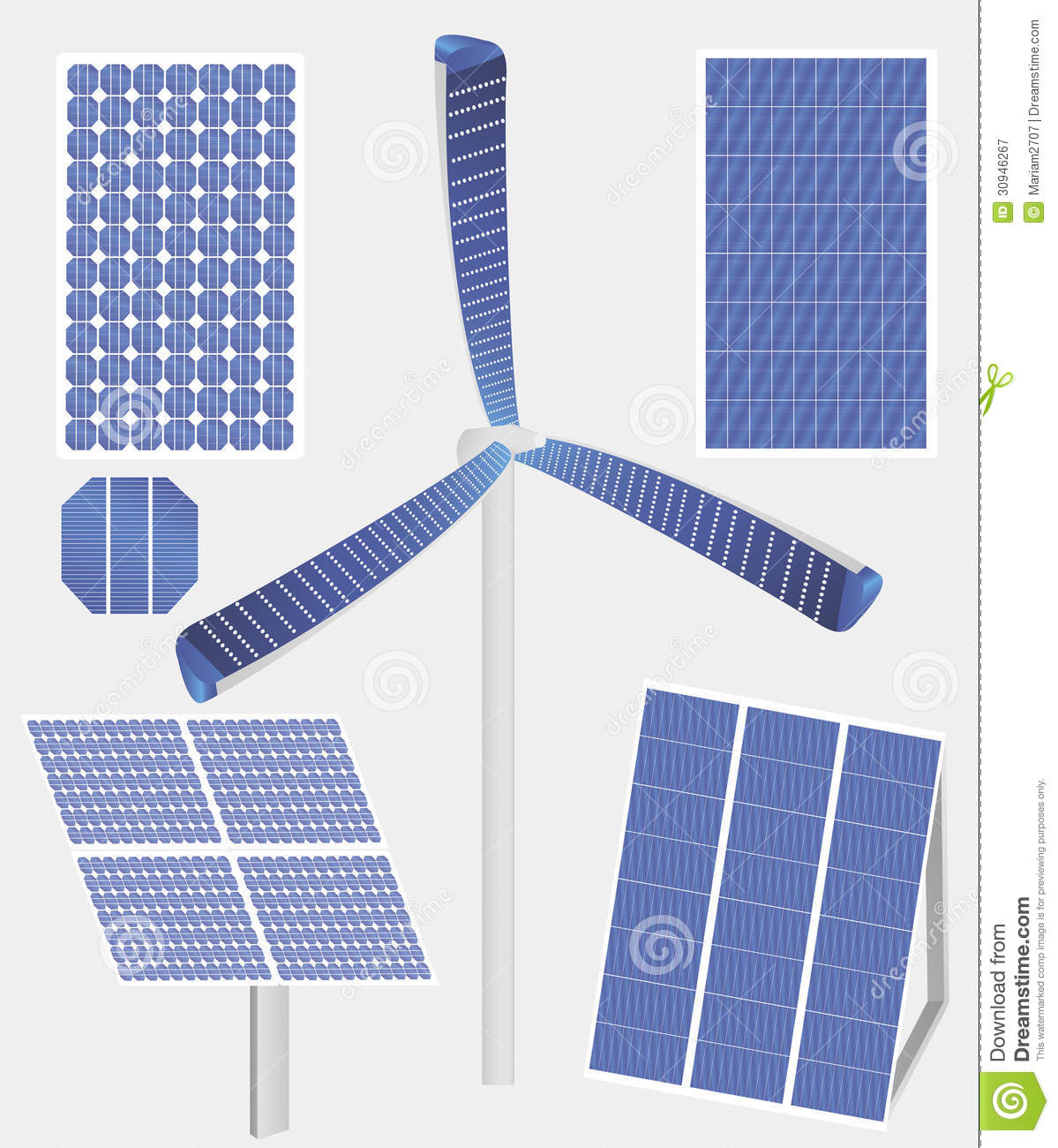 Types of solar panels - Tipos de paneles solares ...