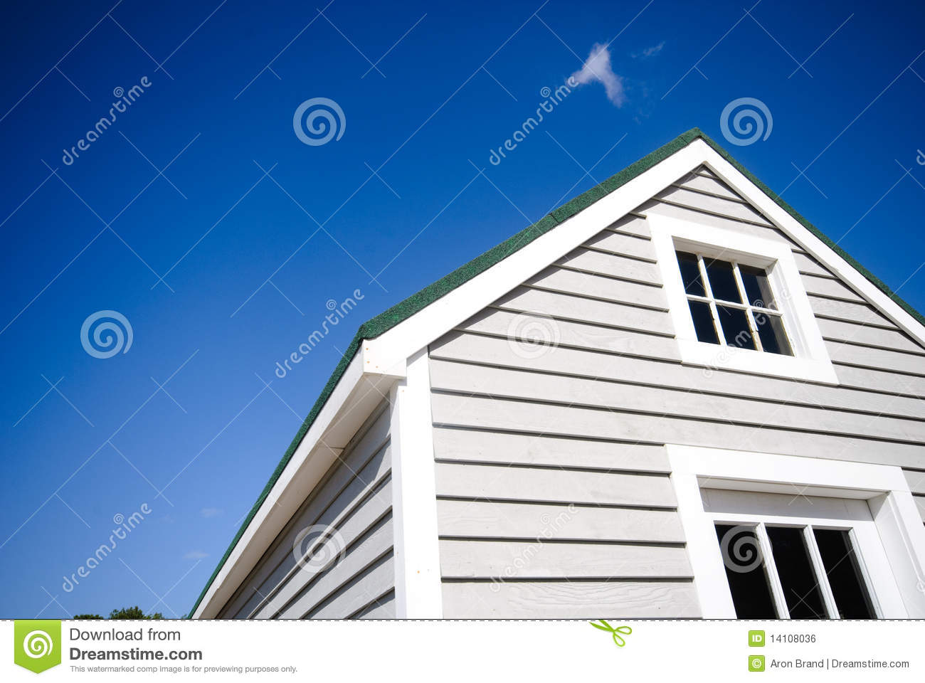 Download Typical american house stock photo. Image of house, window - 14108036