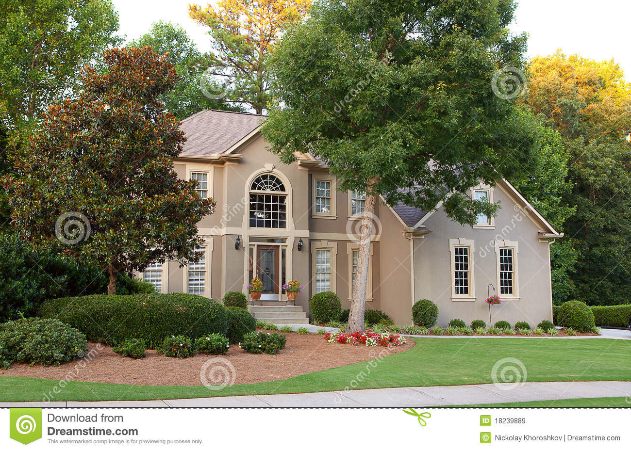 Typical american house royalty free stock images image - Tipica casa americana ...