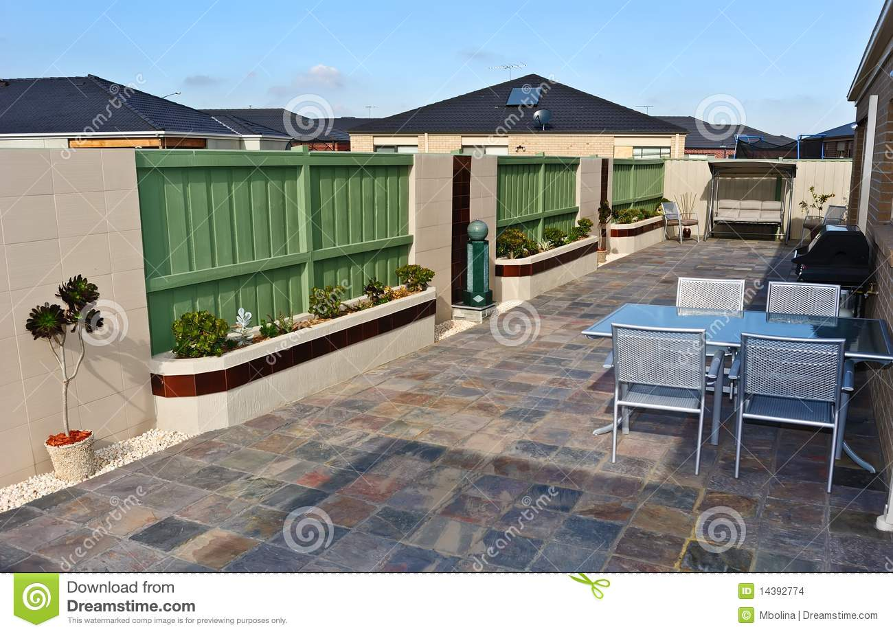 typical australian backyard stock images image 14392774