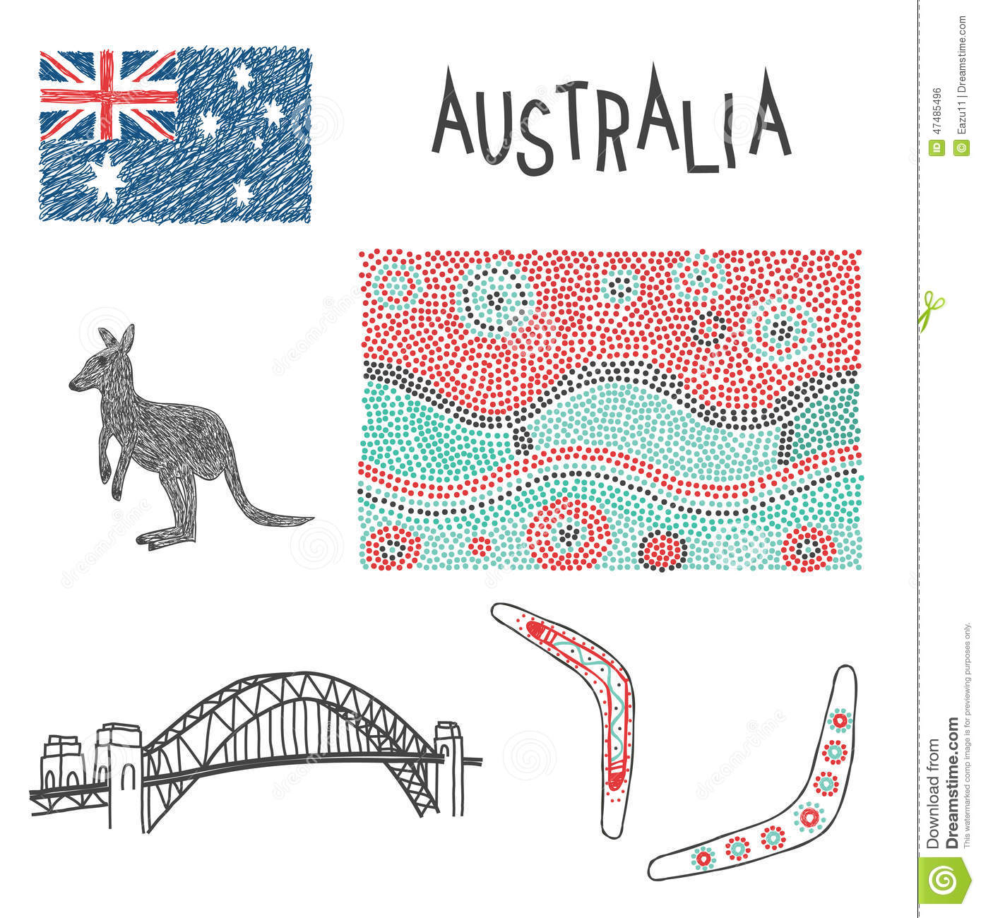 Aboriginal Pictures, Illustrations to Download
