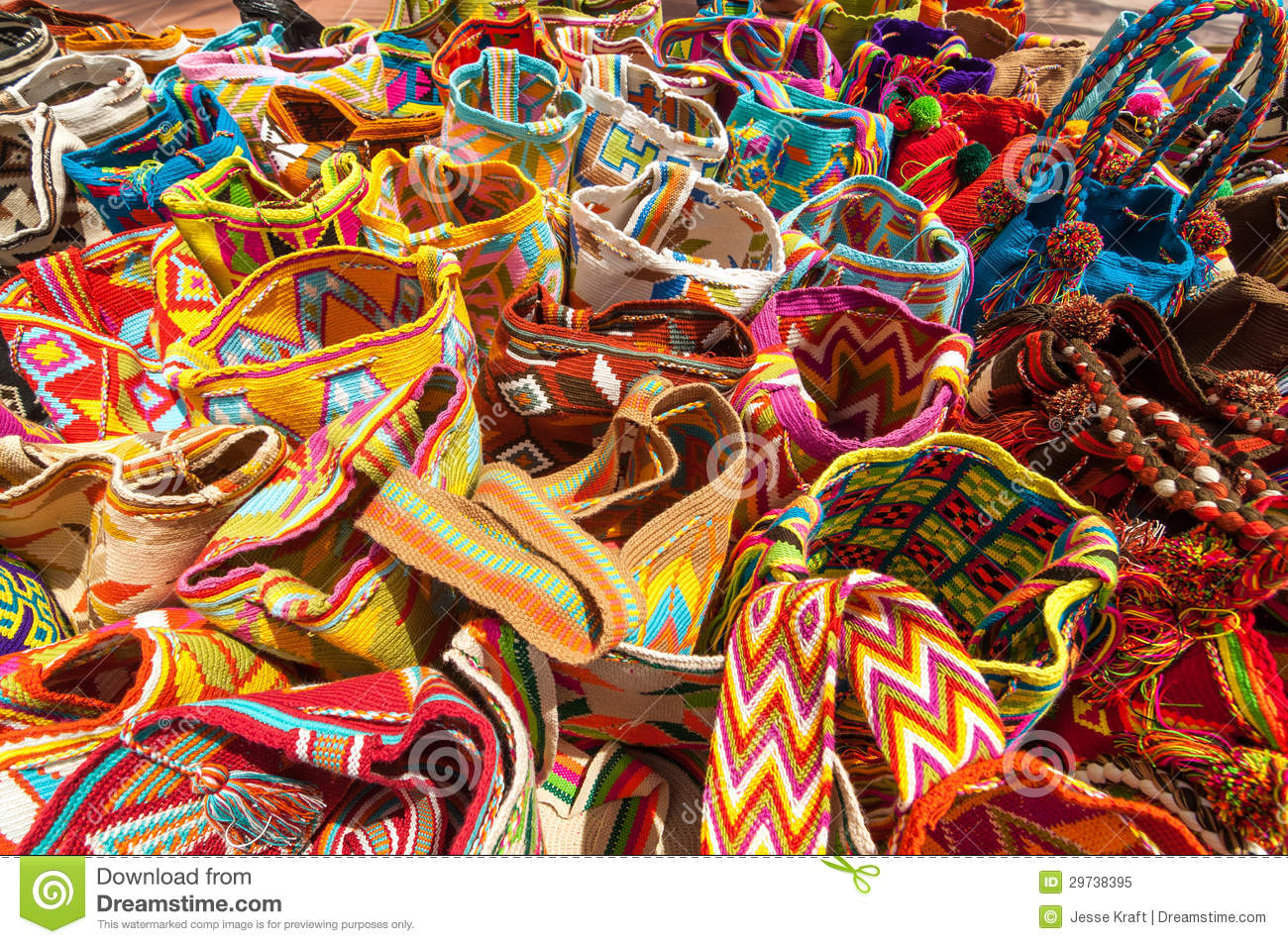 traditional bags in colombia royalty free stock photo Crochet Free Font free clipart crochet hook