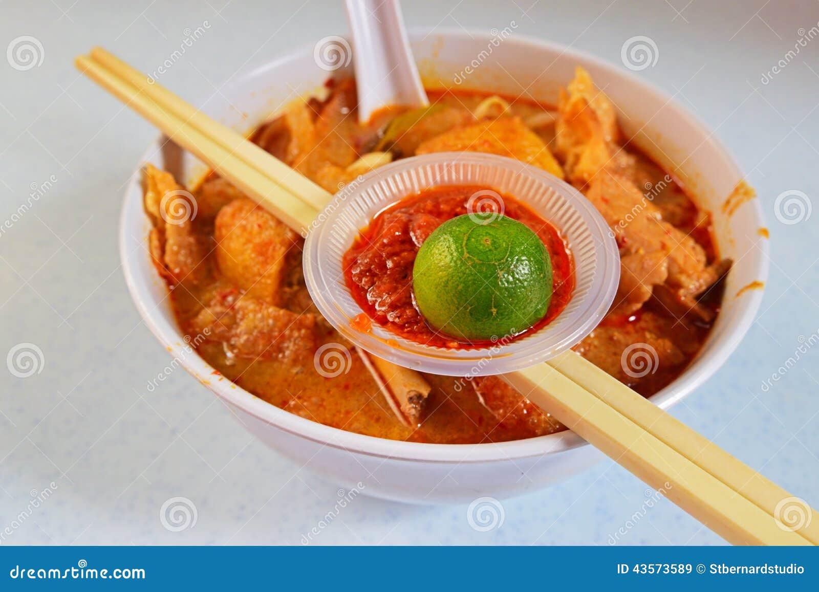 Typical Thai Food Ingredients