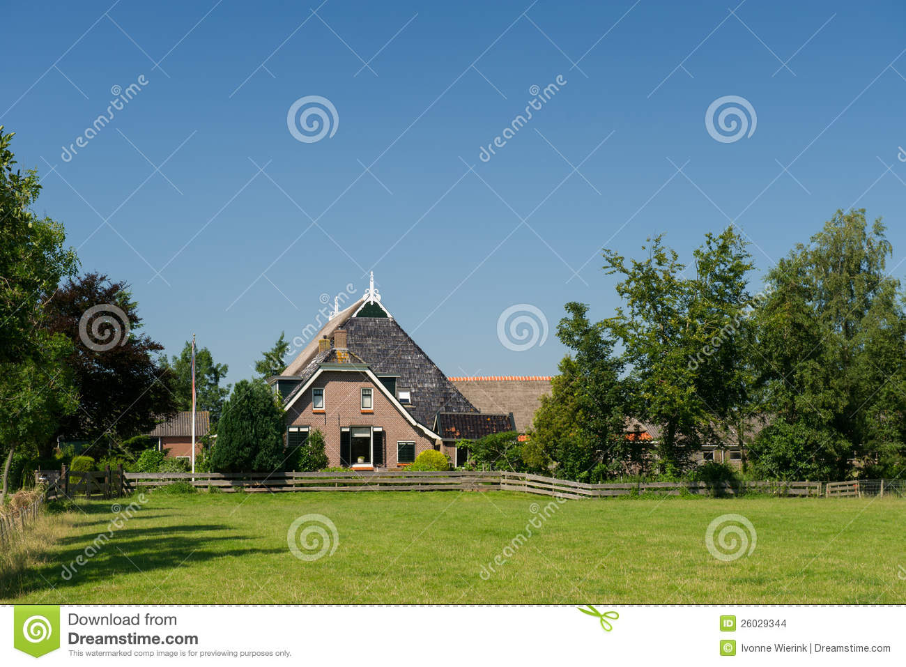 Typical dutch farmhouse stock images image 26029344 for Farm house netherlands