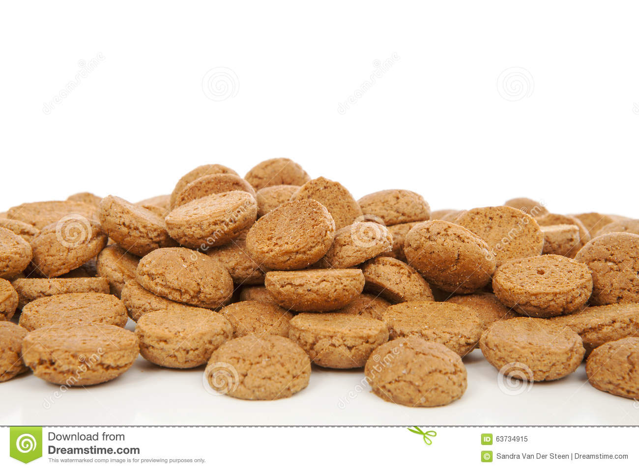 Typical Dutch Sweets: Pepernoten (ginger Nuts) For