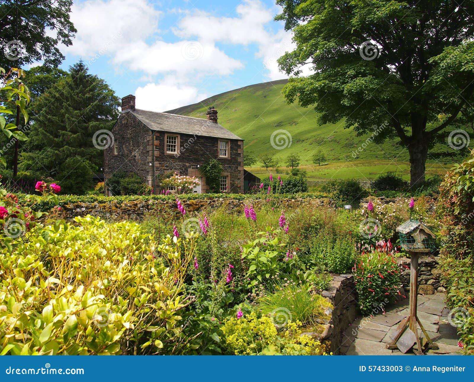 Typical English Village Stock Photo Image 57433003