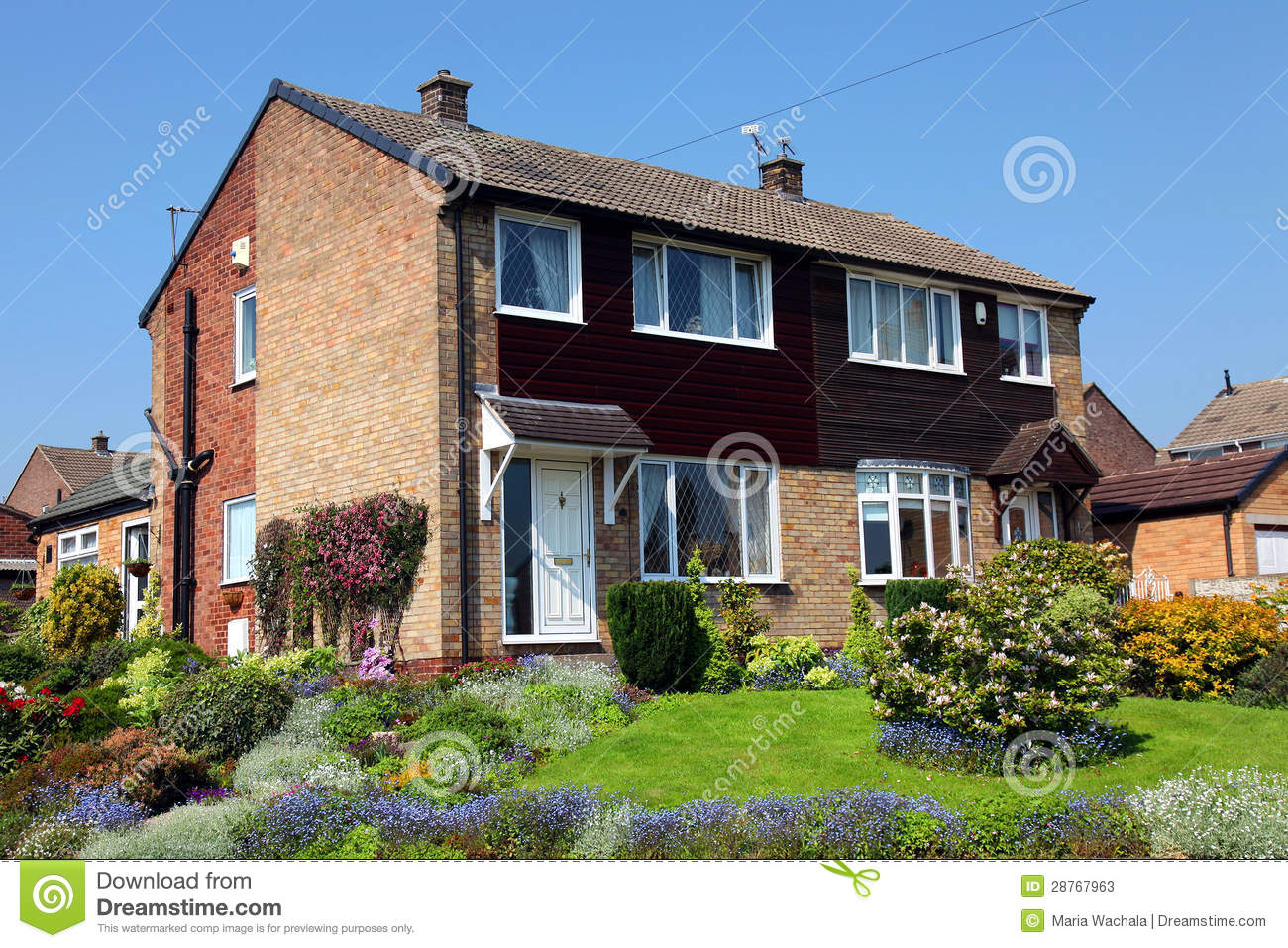 Typical English House Stock Photos Image 28767963