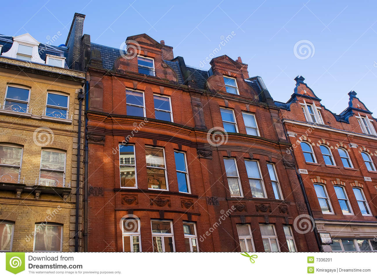 Typical European Houses Stock Image Image 7336201