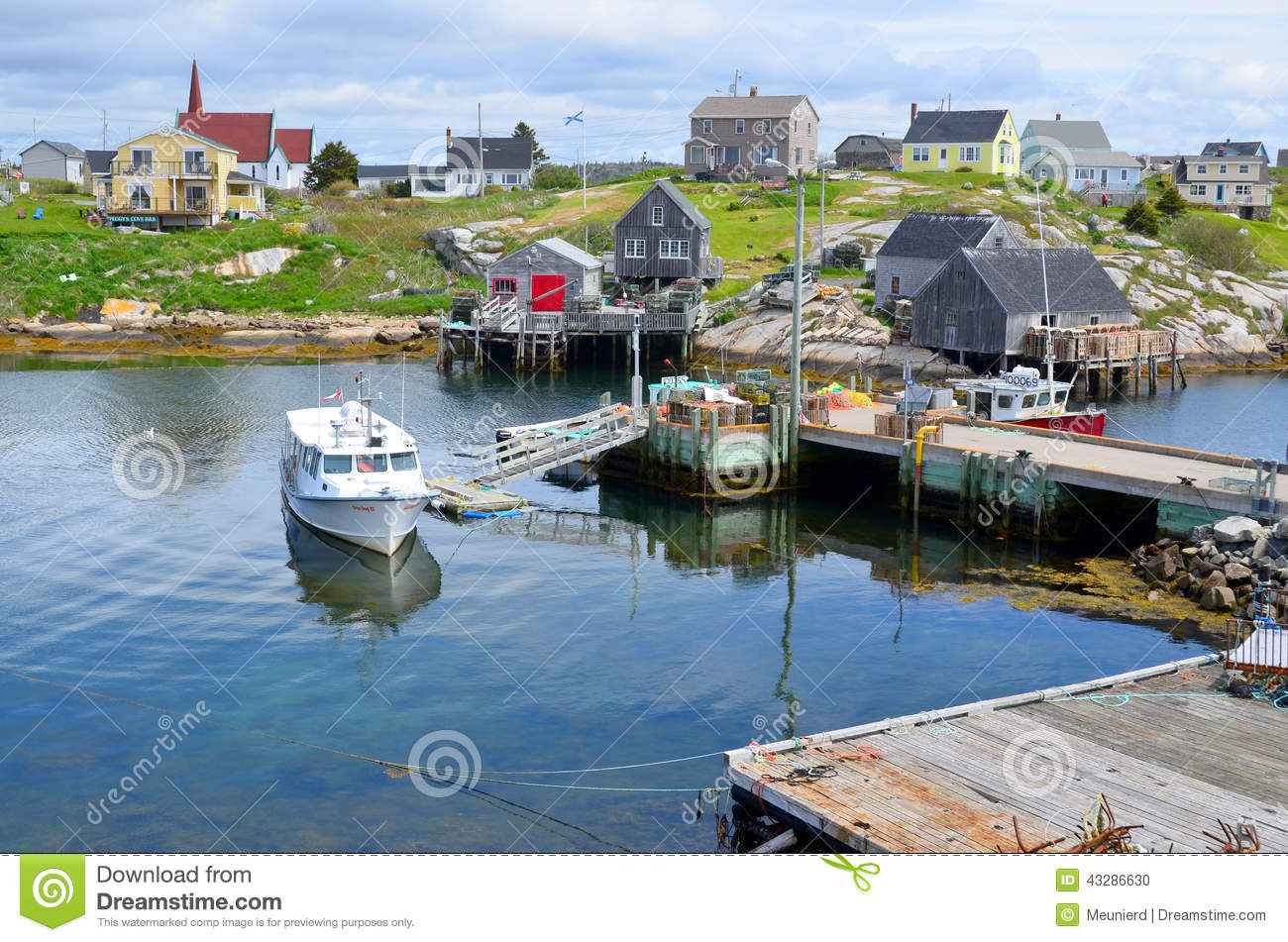 Typical fisherman village editorial image  Image of city - 43286630
