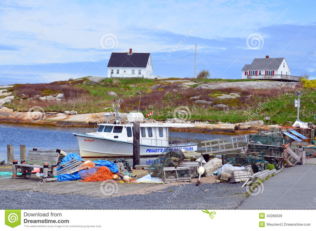 Typical fisherman village editorial stock image  Image of eastern