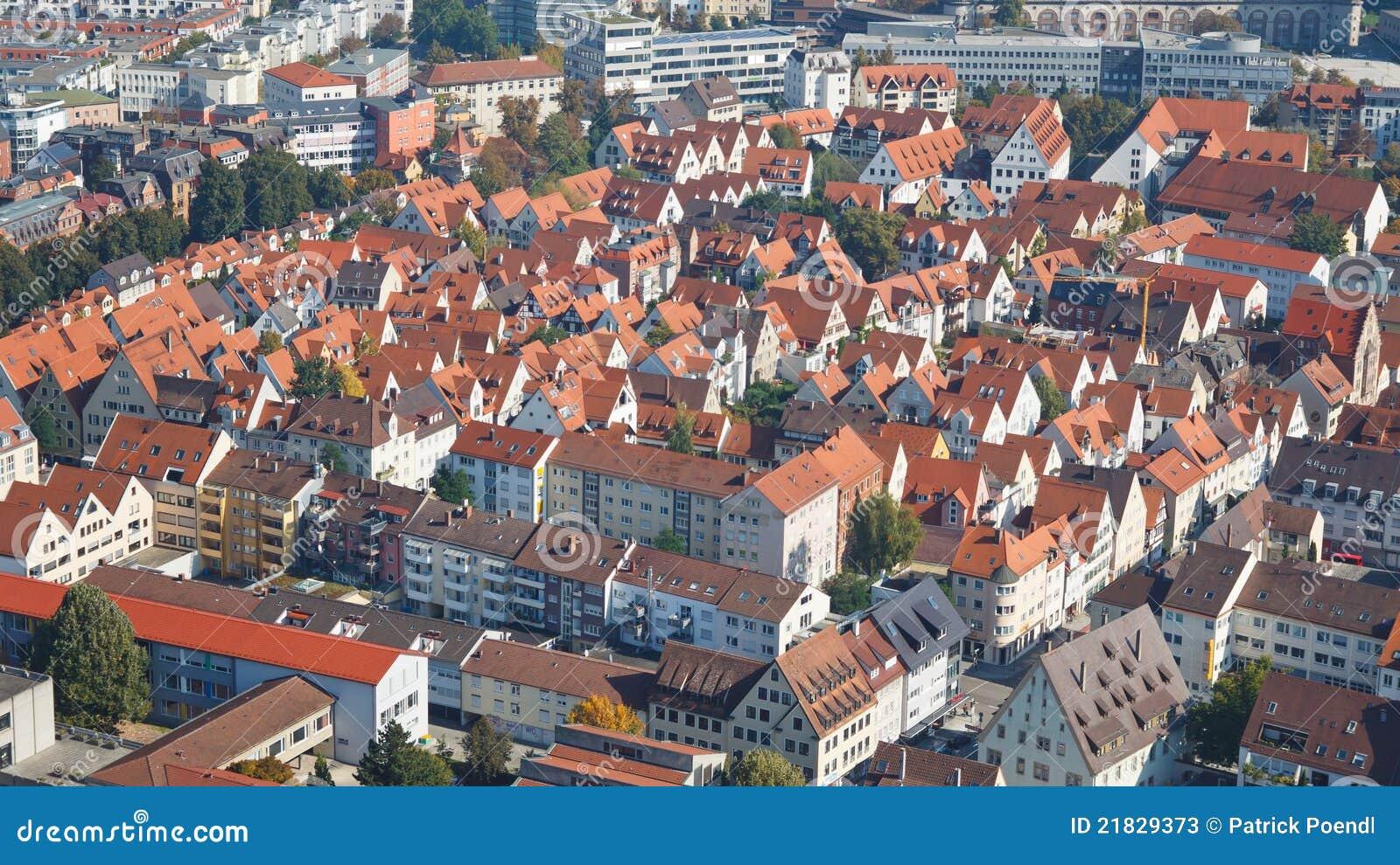 Typical German City Stock Photos Image 21829373