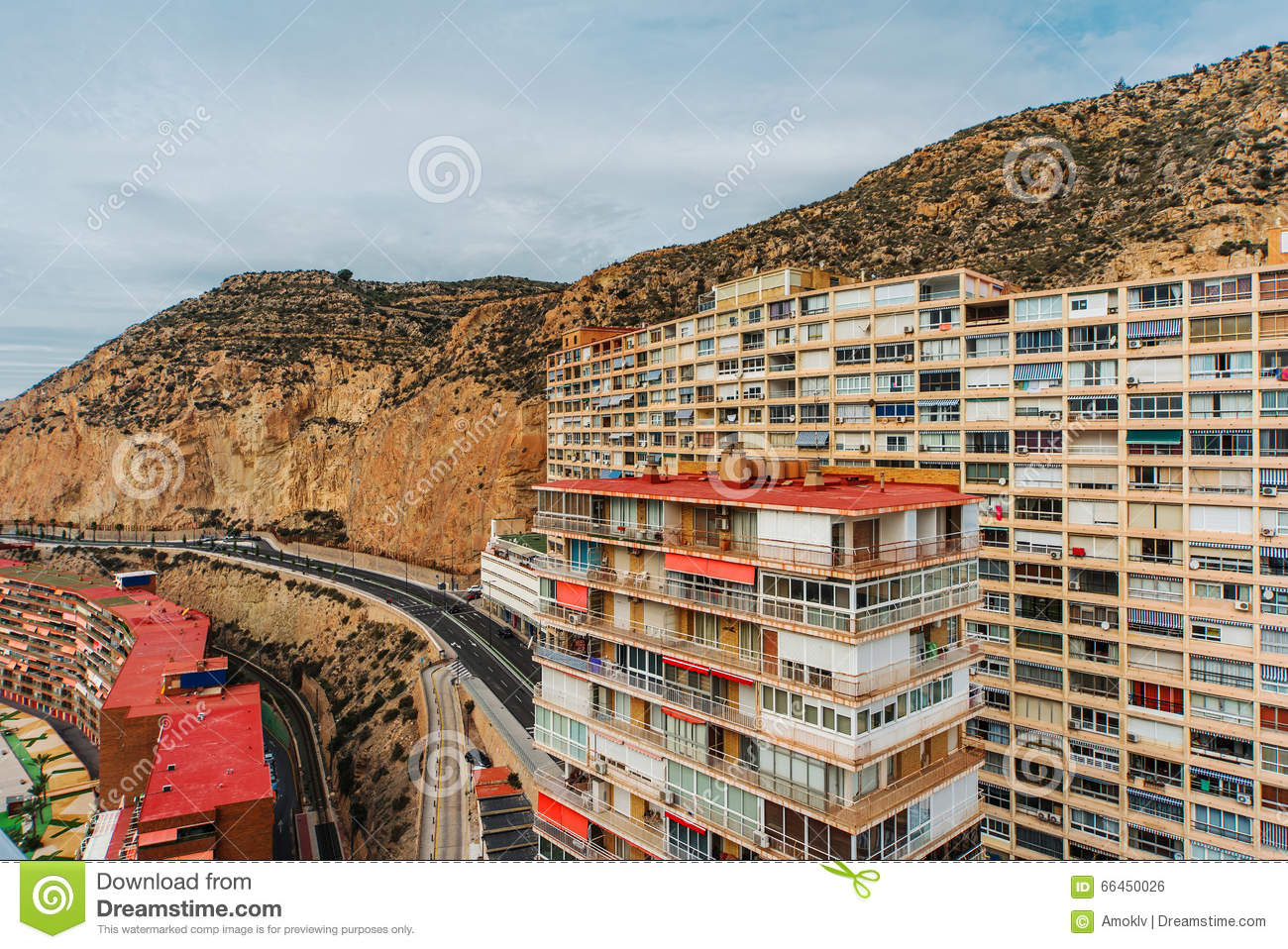 Typical highrise buildings in berlin royalty free stock for Garage costa marseille