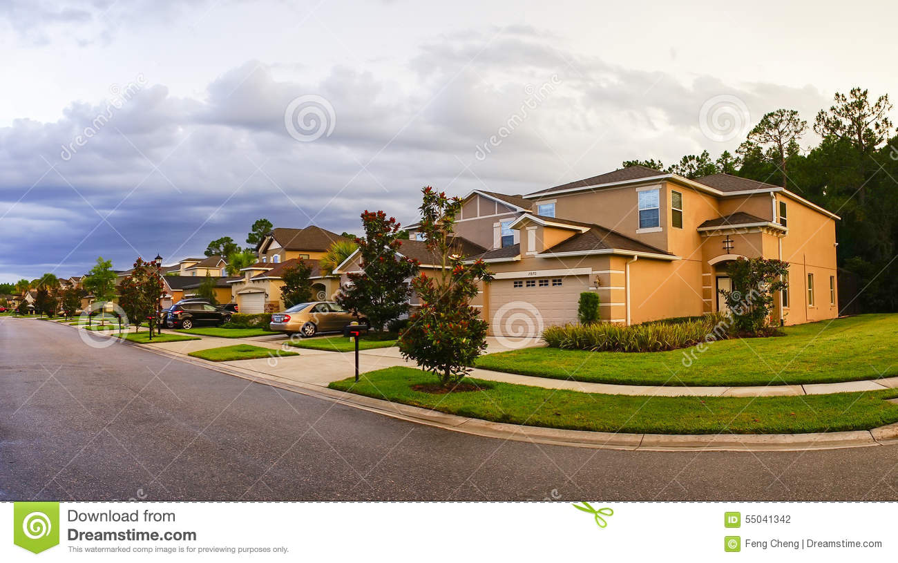 A typical house in florida stock photo image 55041342 for Building a home in florida
