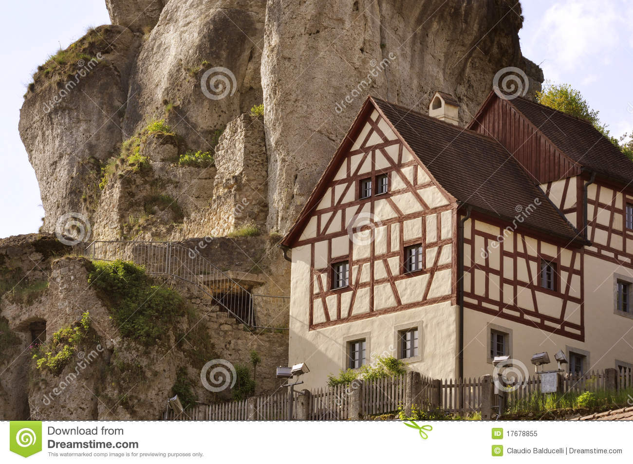 Typical house in North Bavaria, Germany