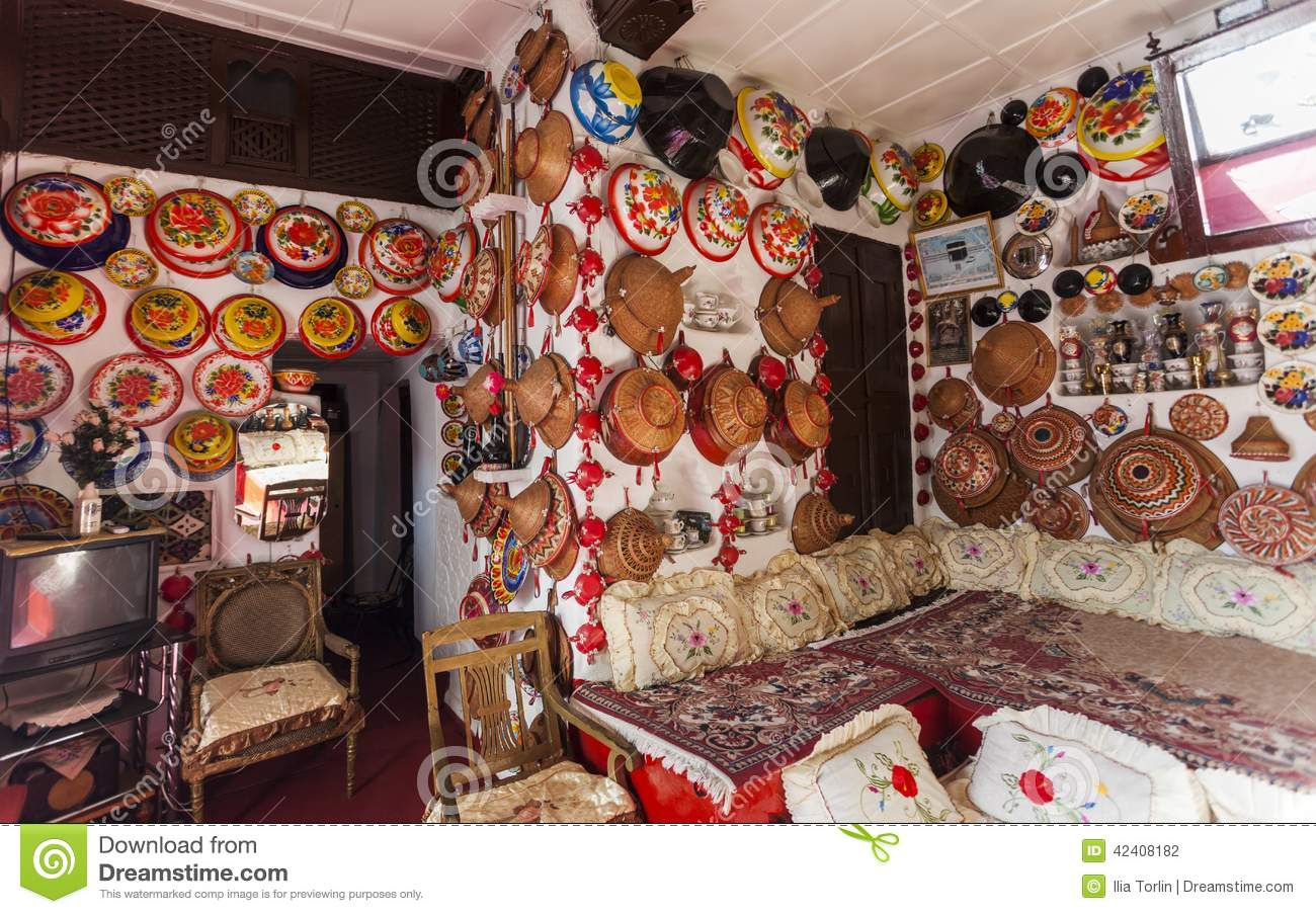 Attrayant Typical Interior Of Traditional House. Harar. Ethiopia. Stock Photography
