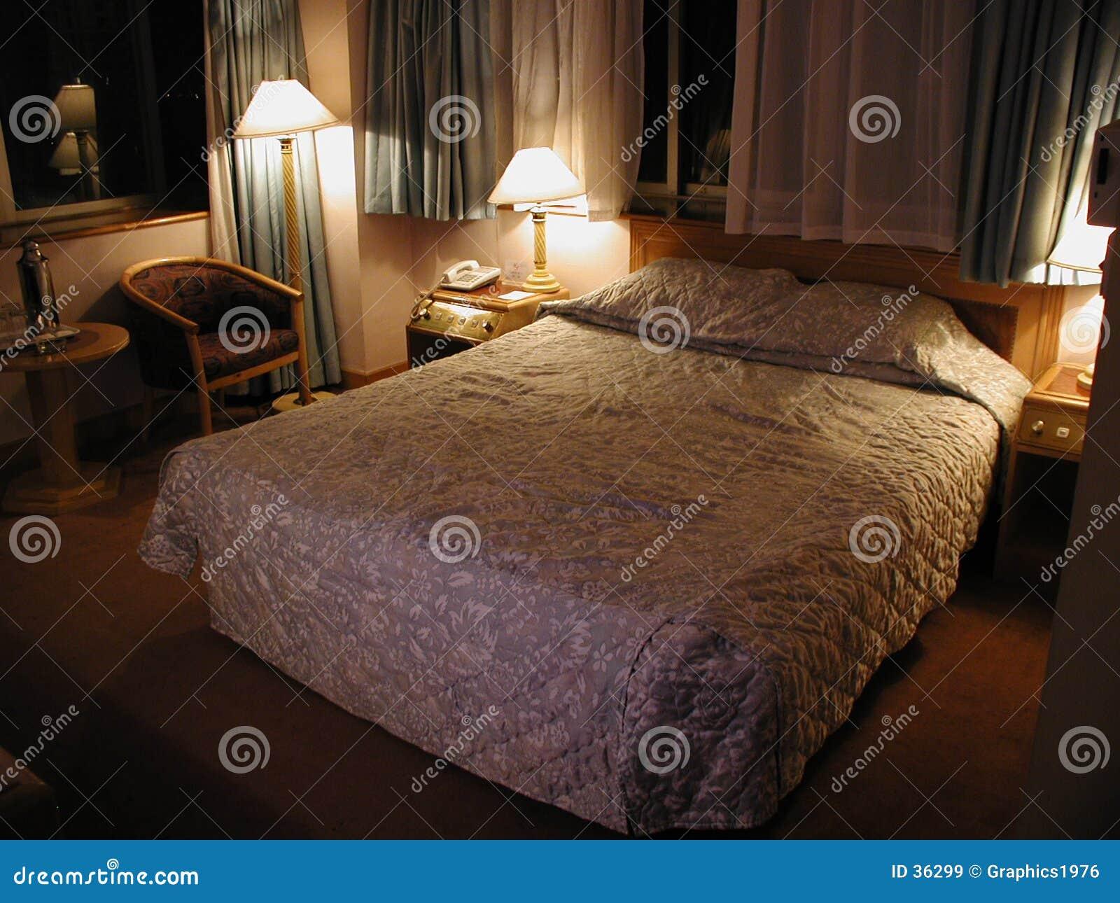 Typical mid-range hotel room
