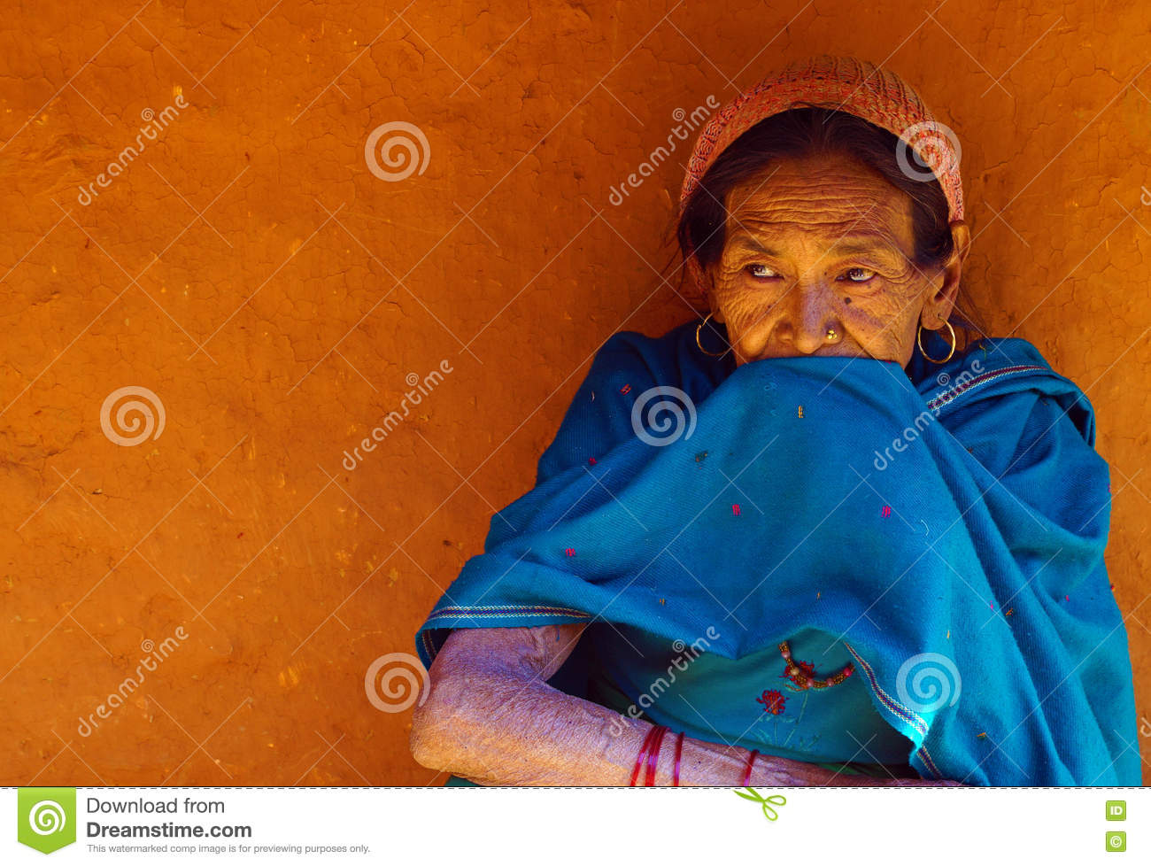 A Typical Nepalese Village Woman